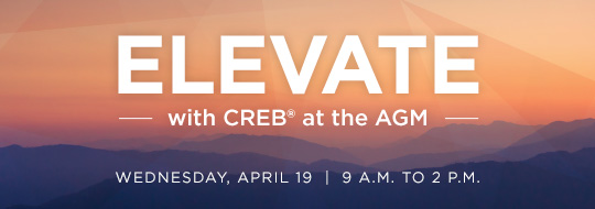 Elevate with CREB® at the AGM