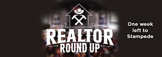 one week to realtor round up