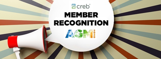 AGM 2020 member recognition